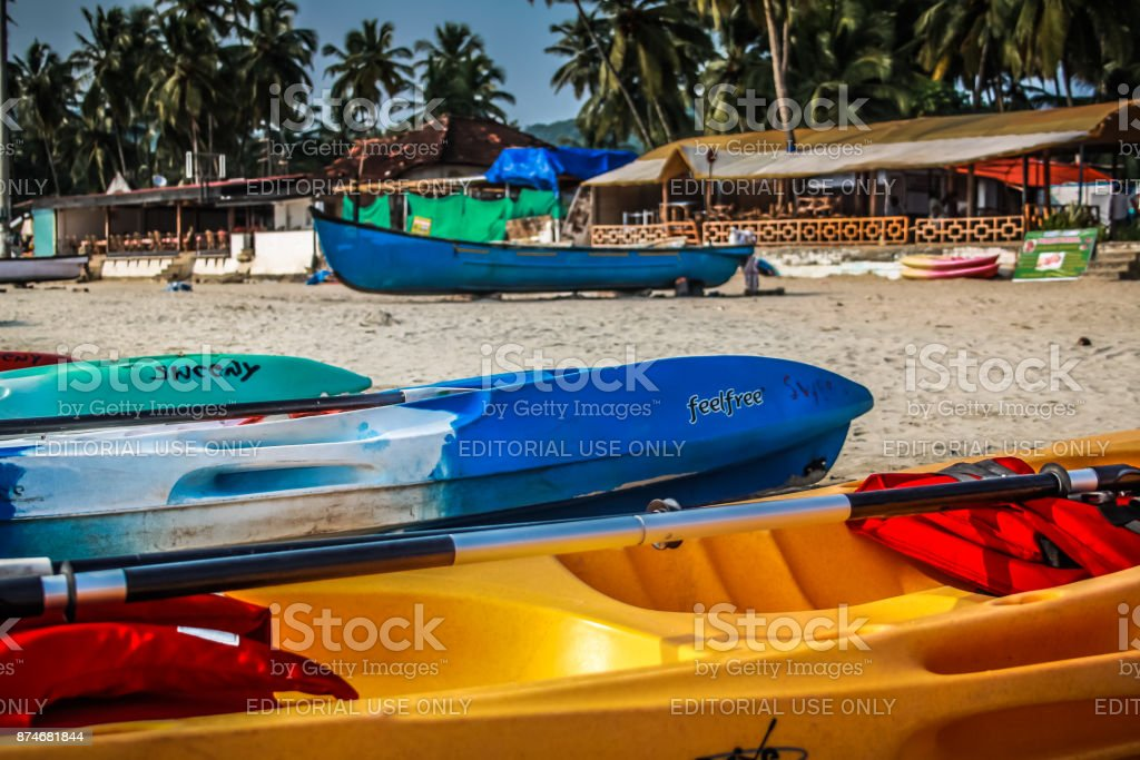 PALOLEM GOA INDIA 10-28-2017 stock photo