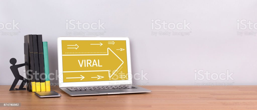 VIRAL CONCEPT stock photo