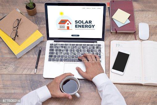 istock SOLAR ENERGY CONCEPT 877505014