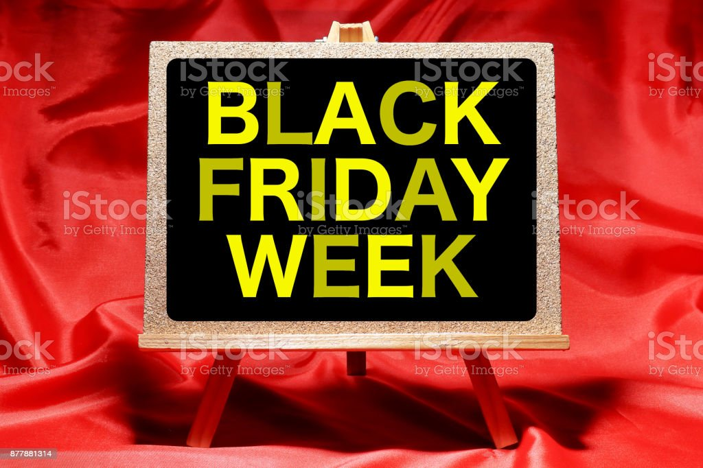 BLACK FRIDAY WEEK stock photo