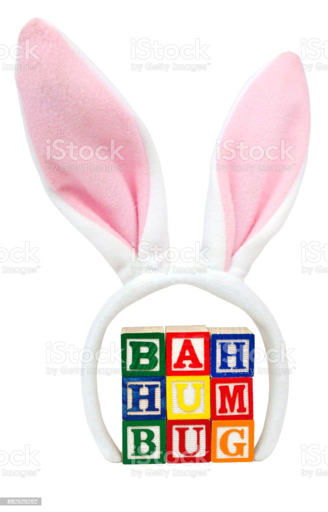 BAH HUMBUG! stock photo