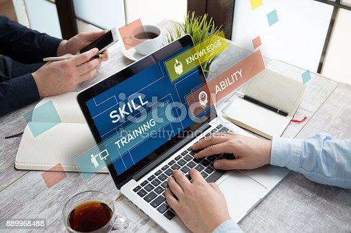 istock SKILL CONCEPT 889968488
