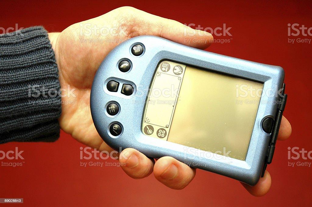 PDA 3 photo libre de droits