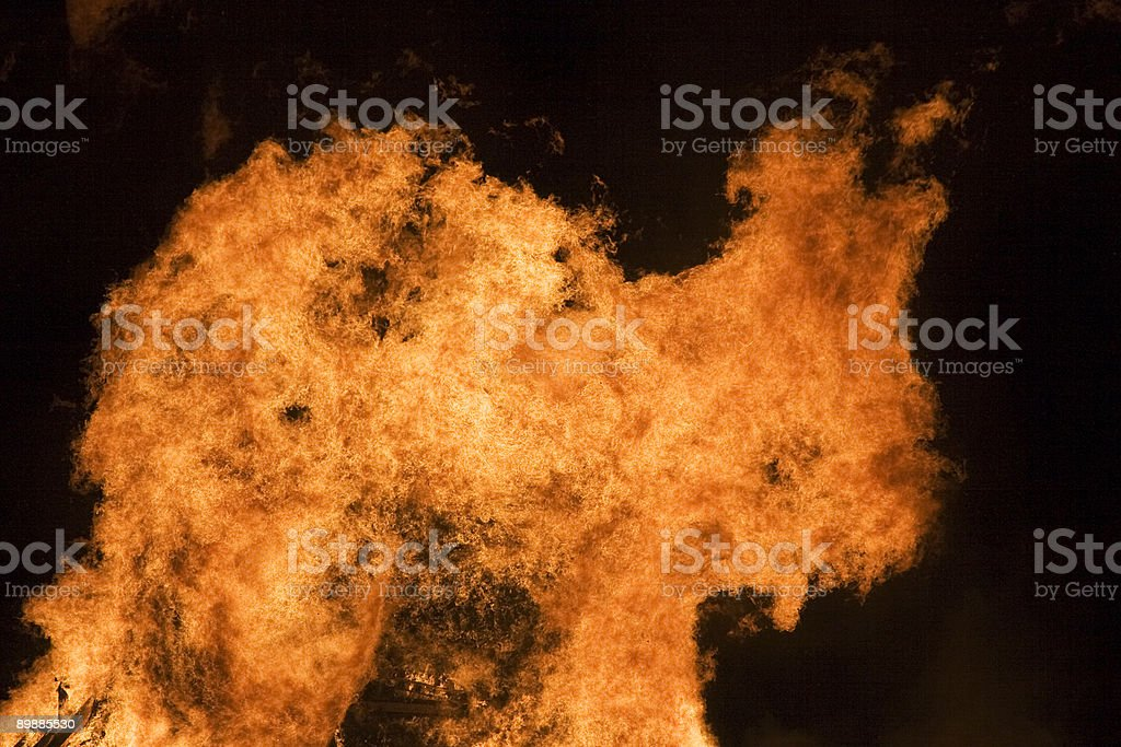FIRE! royalty-free stock photo