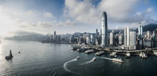 hong kong, china - hong kong fotografías e imágenes de stock