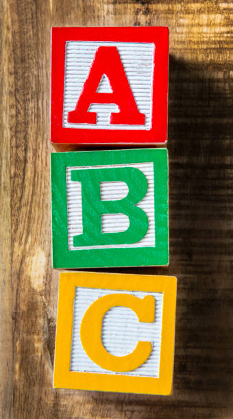 abc - alphabetical order stock pictures, royalty-free photos & images