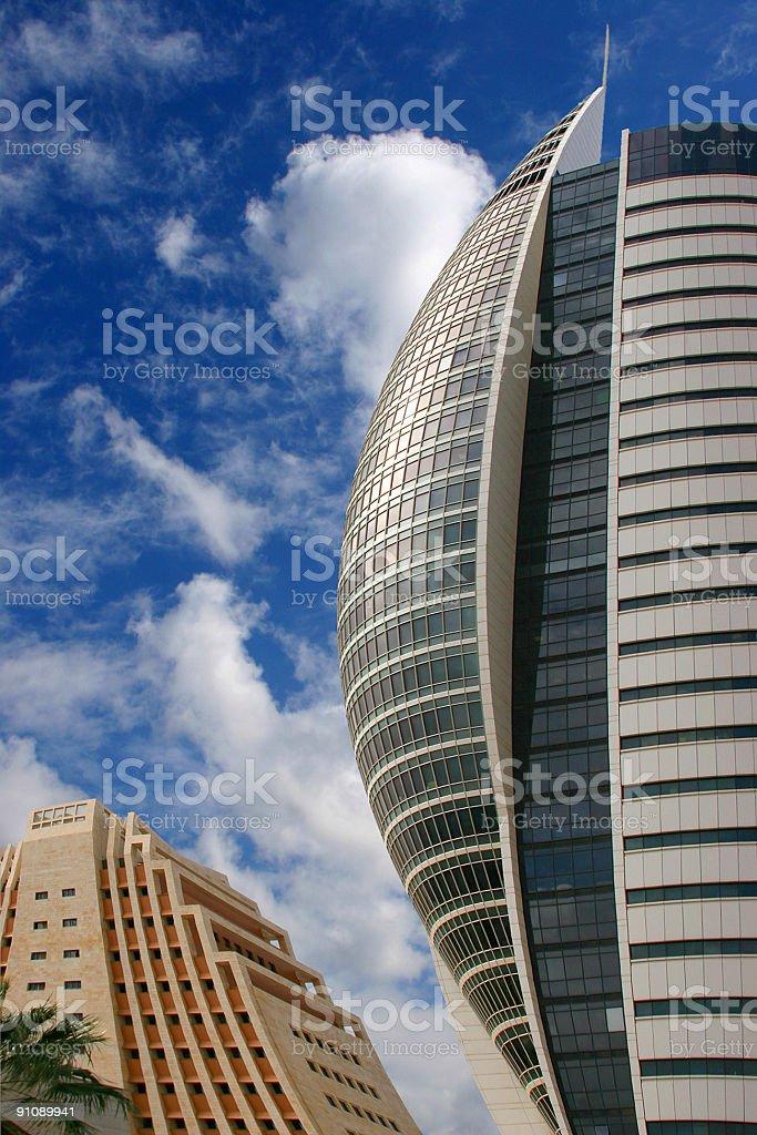 ARCHITECTURE OF THE FUTURE stock photo