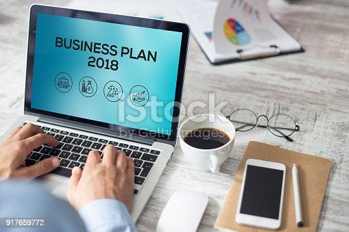 888342518istockphoto BUSINESS PLAN 2018 CONCEPT 917659772
