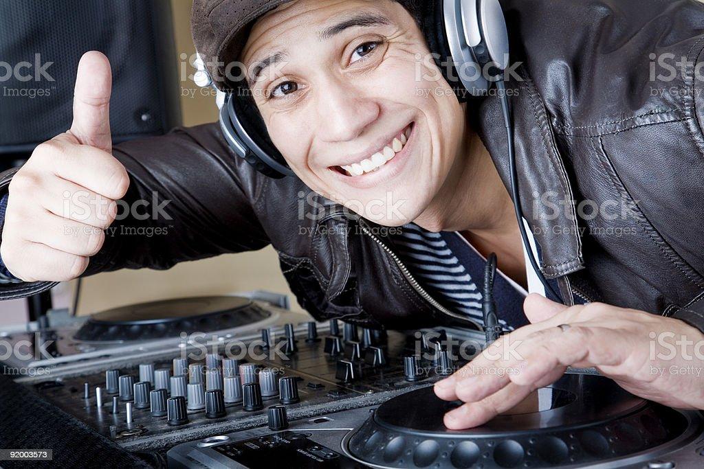 DJ OK royalty-free stock photo