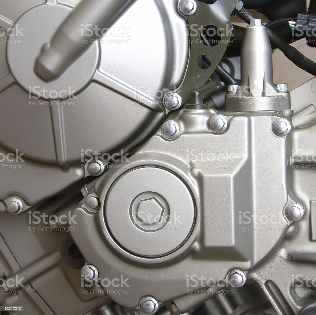 ENGINE DETAILS royalty-free stock photo