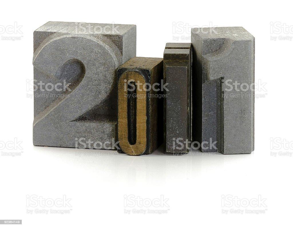 2011 royalty-free stock photo