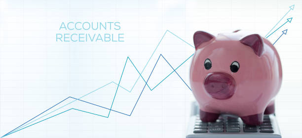 ACCOUNTS RECEIVABLE CONCEPT ACCOUNTS RECEIVABLE CONCEPT accounting ledger stock pictures, royalty-free photos & images