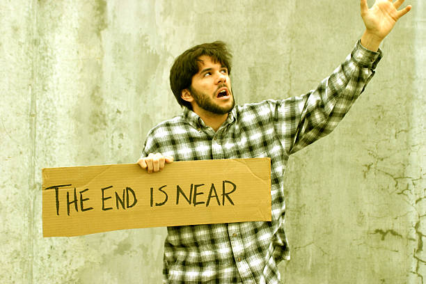 THE END IS NEAR  approaching stock pictures, royalty-free photos & images