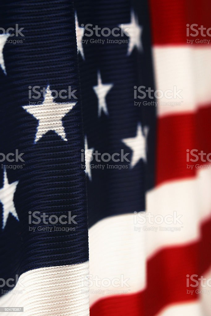 US FLAG 2 royalty-free stock photo