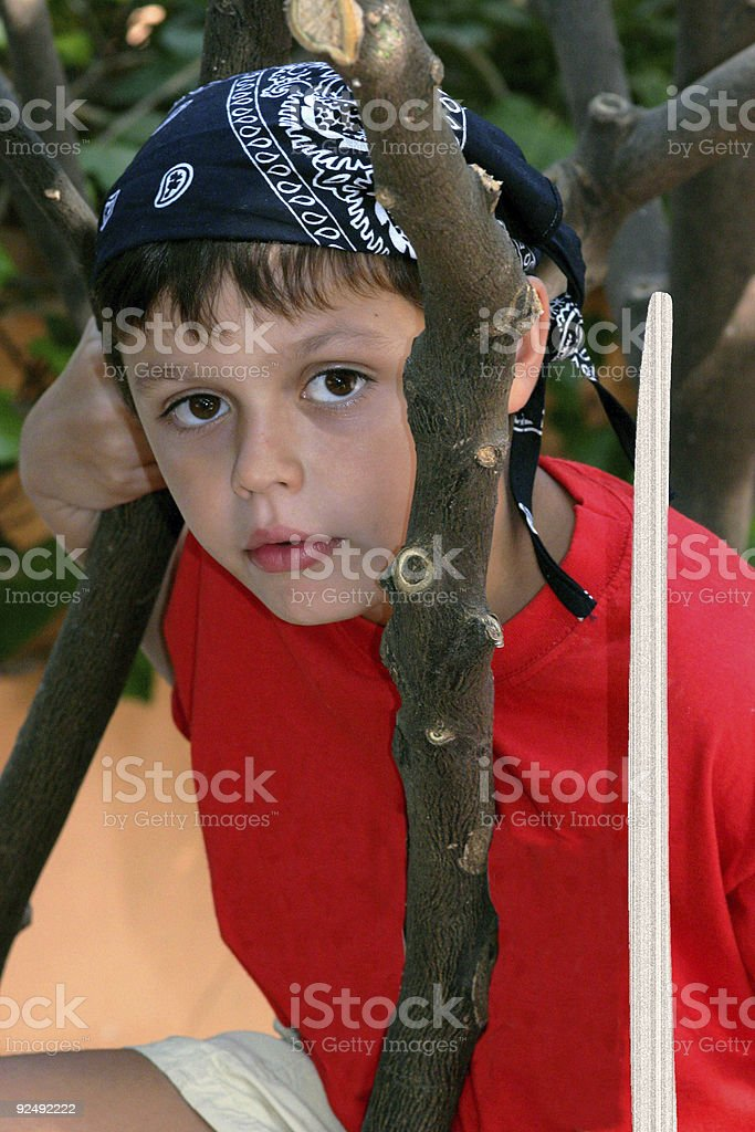 KARL THE PIRATE ONE royalty-free stock photo