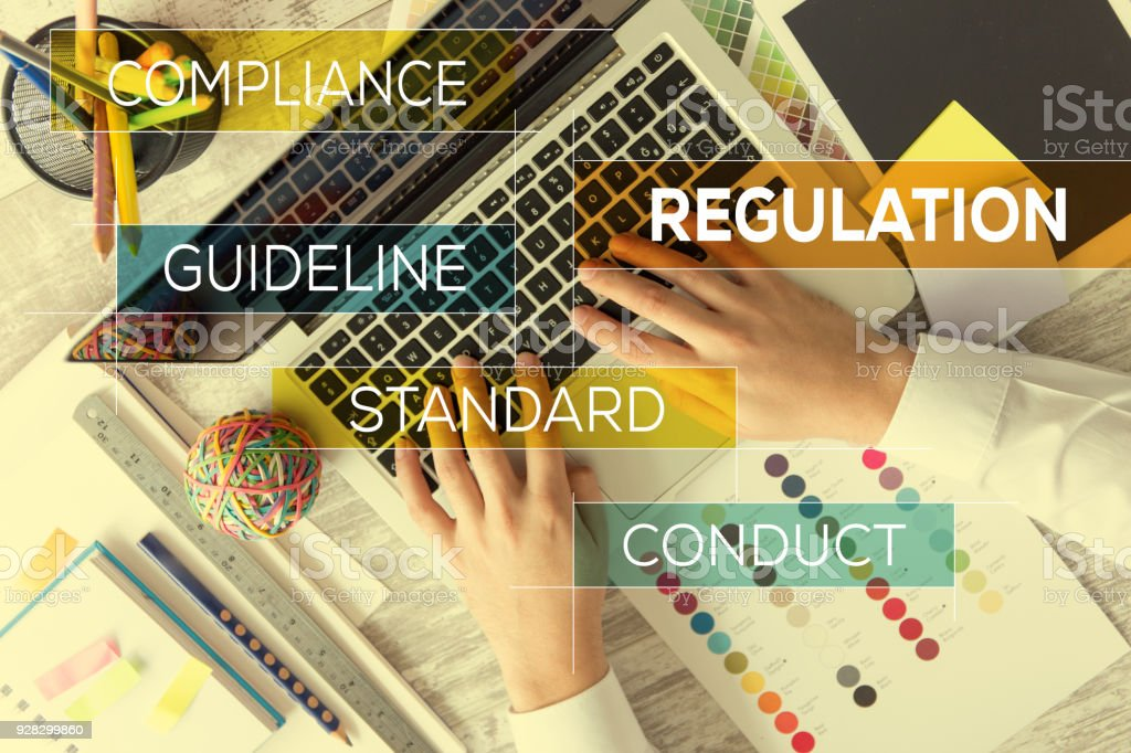 REGULATION CONCEPT stock photo