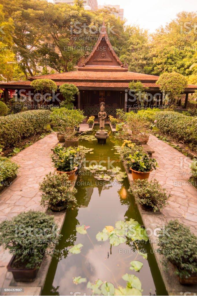 Thailand Bangkok Hp Kukrit Pramoj House Stock Photo