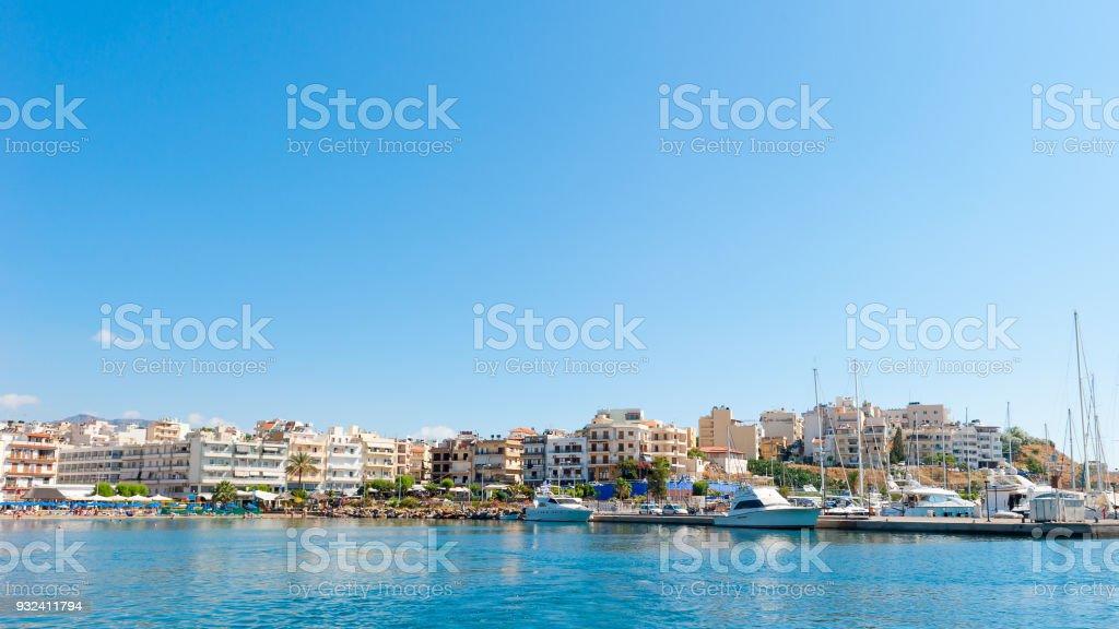 AGIOS NIKOLAOS, GREECE stock photo