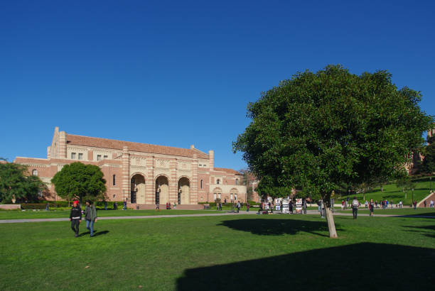 UCLA Los Angeles, USA - January 5, 2011: A photo of UCLA. The University of California, Los Angeles (UCLA) is located in the Westwood neighborhood of Los Angeles. ucla medical center stock pictures, royalty-free photos & images