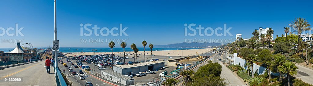 LA shore stock photo
