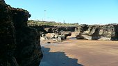 Des Rochersplage Tamarismaroc Fotografie stock e altre