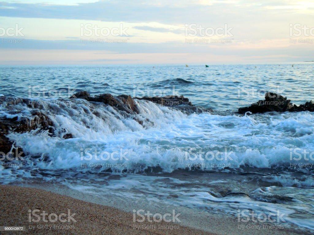 Image Bord De Mer bord de mer lloret de mar stock photo - download image now