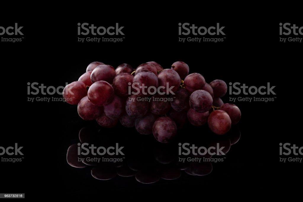 Черный виноград royalty-free stock photo
