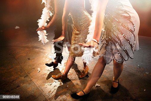Dancing vintage