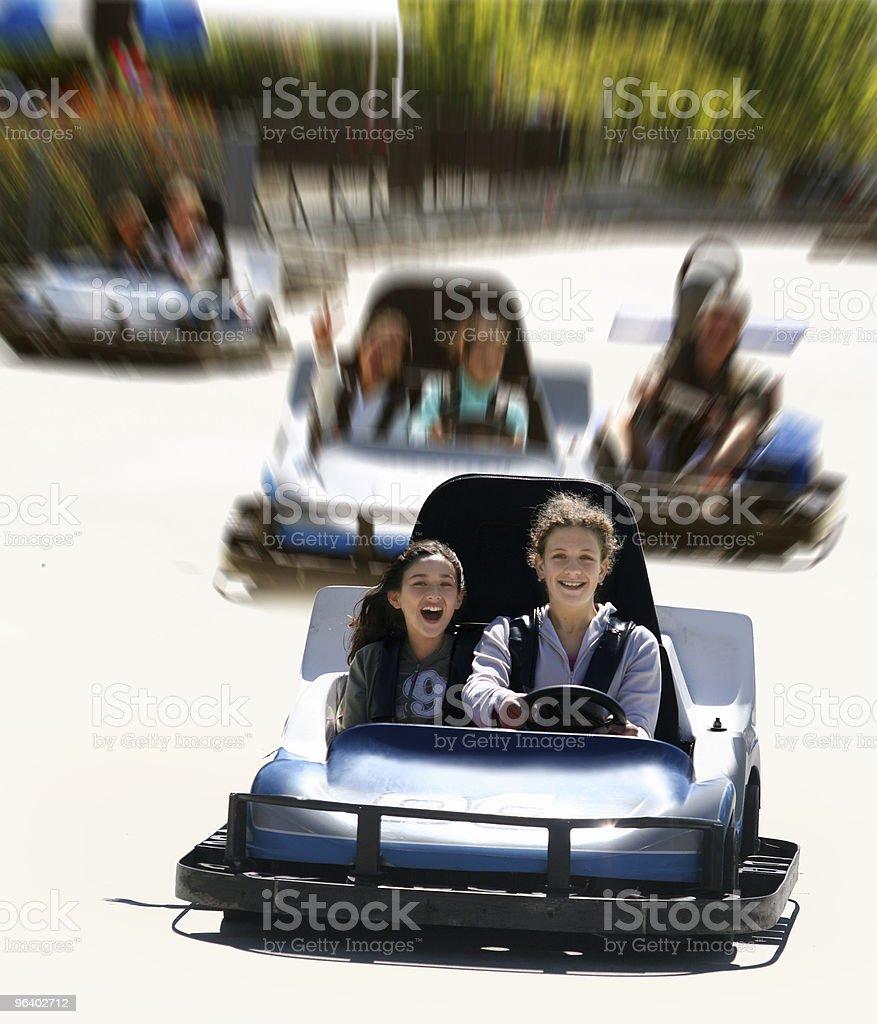 GO CART - Royalty-free Adolescence Stock Photo