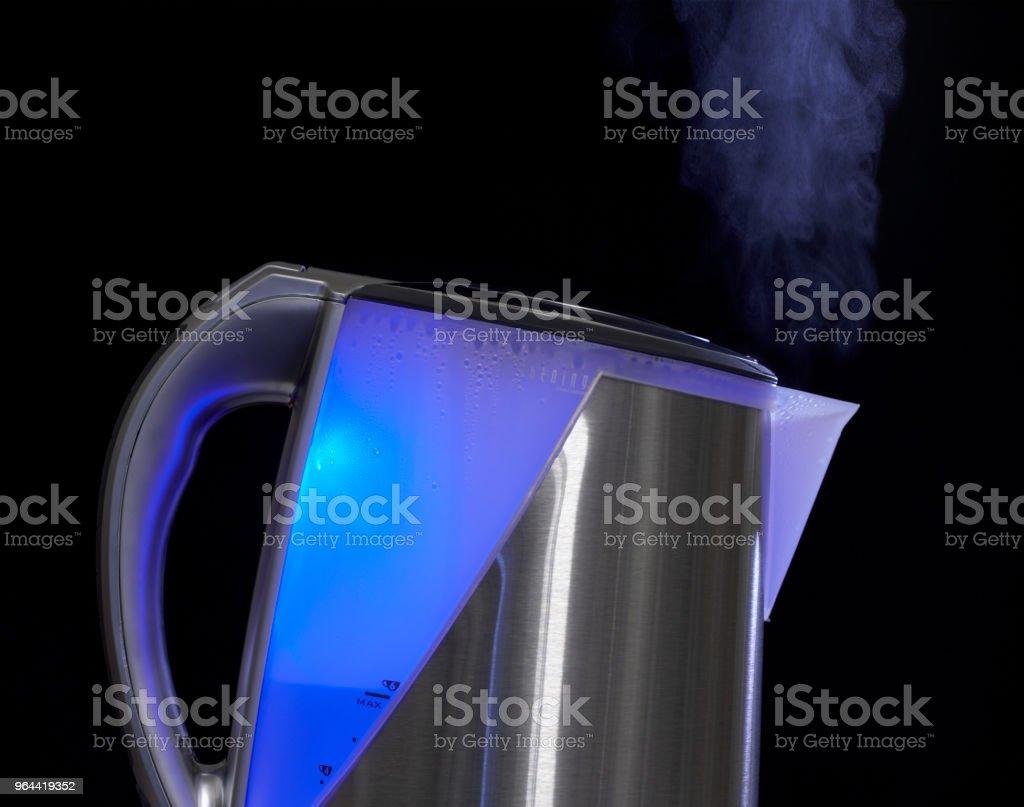 RVS WATERKOKER - Royalty-free Beschrijvende kleur Stockfoto