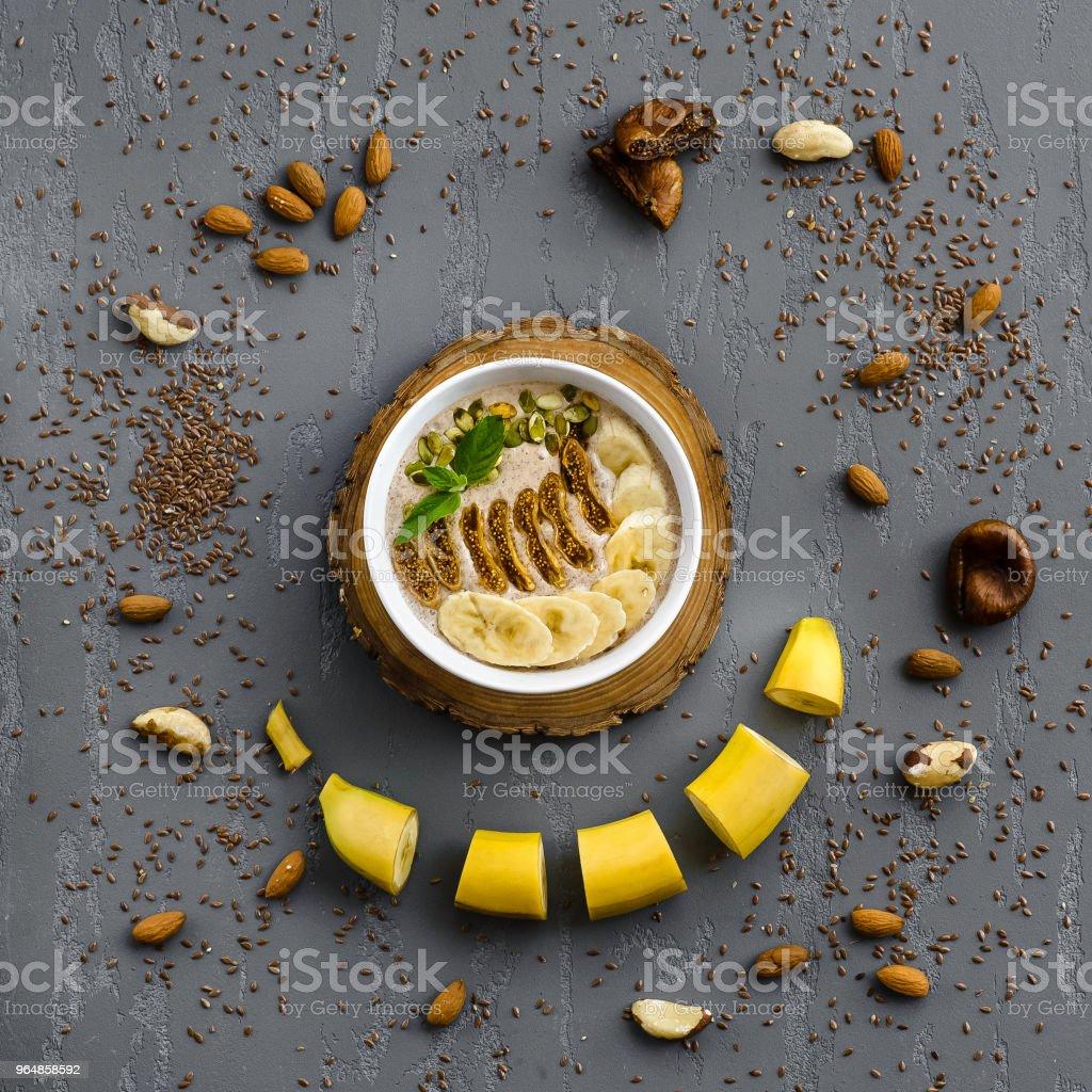 Банановая каша royalty-free stock photo