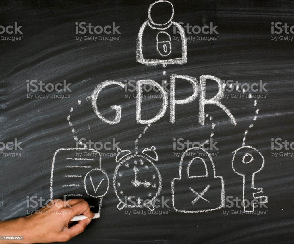 GDPR - 免版稅互聯網圖庫照片