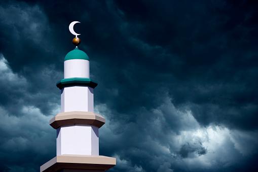 Tower Of Mosque - zdjęcia stockowe i więcej obrazów Bez ludzi