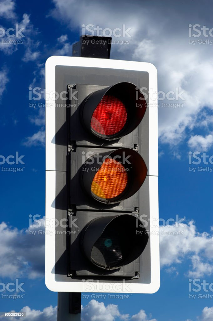 ROAD TRAFFIC LIGHT zbiór zdjęć royalty-free