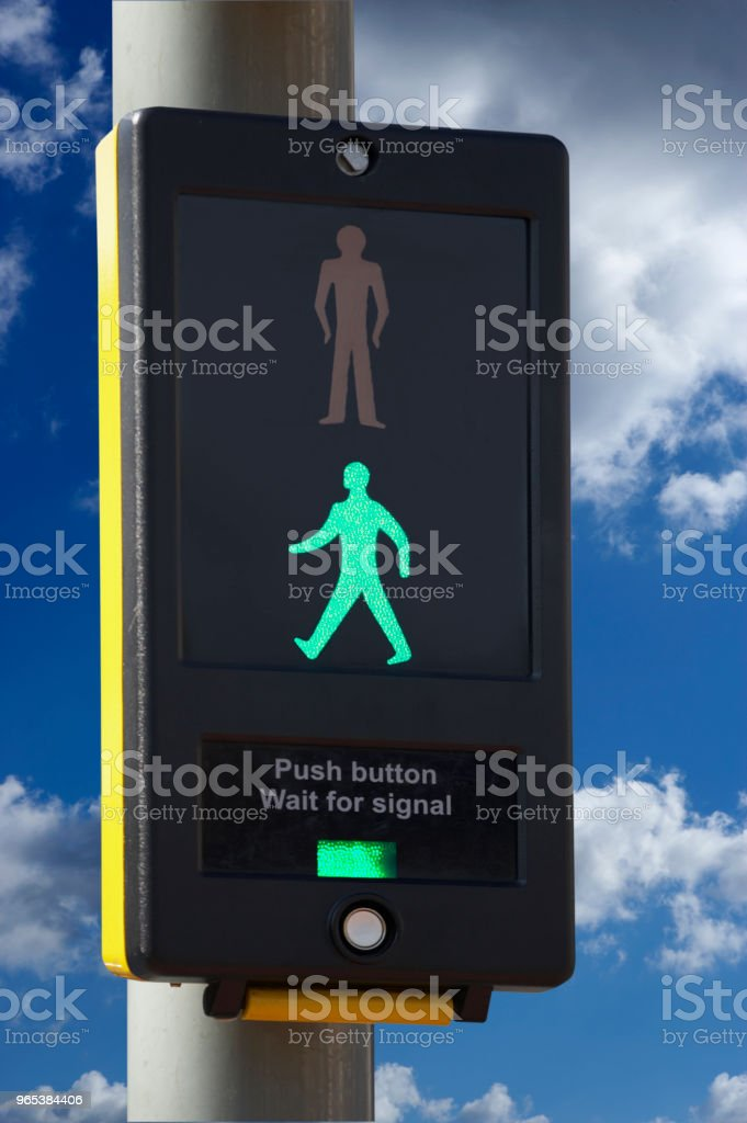 ROAD TRAFFIC LIGHT royalty-free stock photo