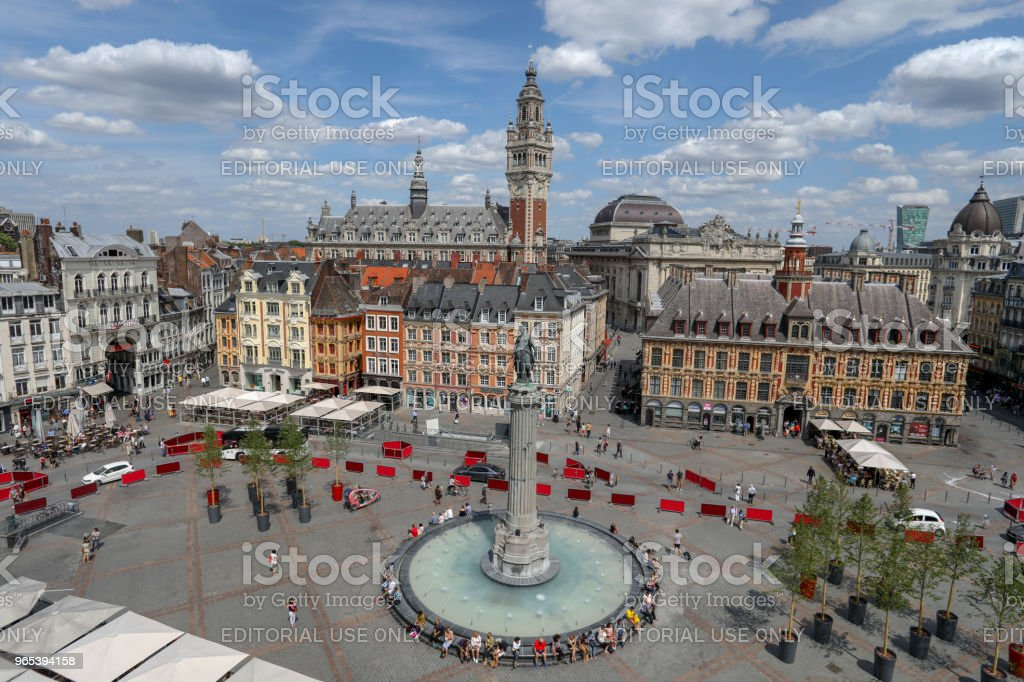 GRAND PLACE royalty-free stock photo