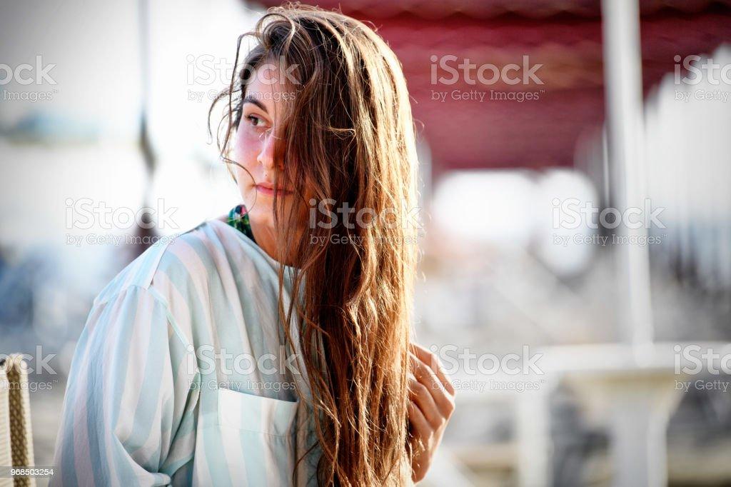GIRL - foto stock
