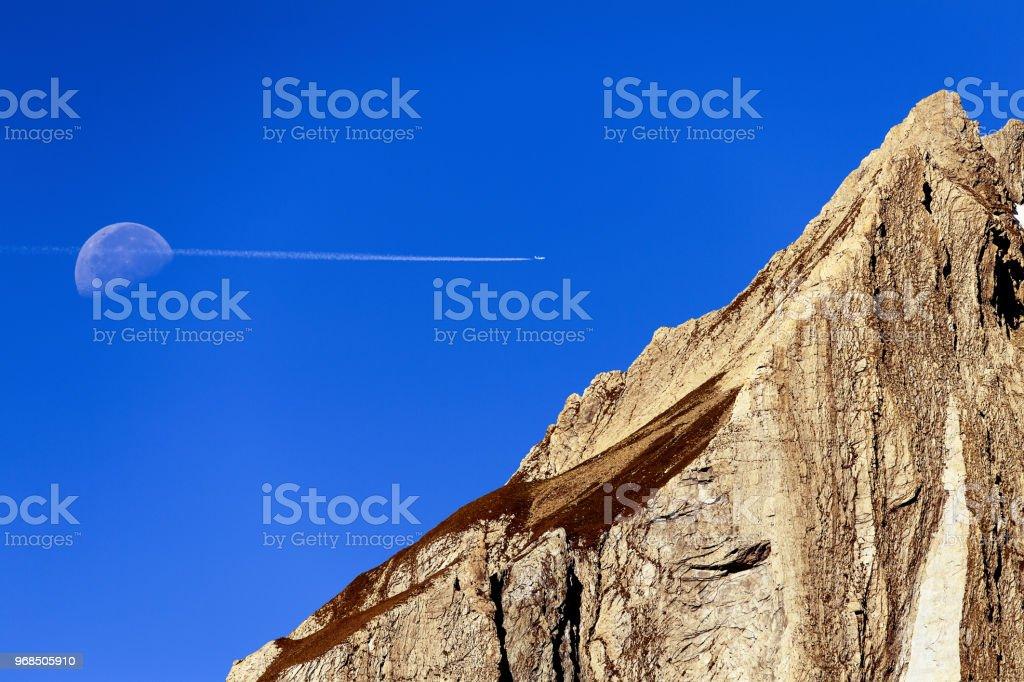 A CUT IN THE SKY - foto stock