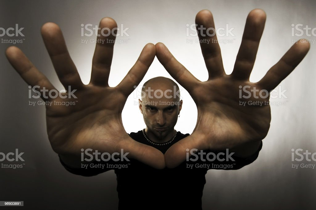 HEALER royalty-free stock photo