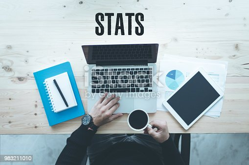 istock COMMUNICATION TECHNOLOGY BUSINESS AND STATS CONCEPT 983211010