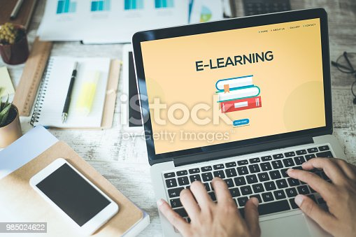 istock E-LEARNING CONCEPT 985024622