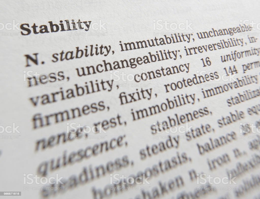 Another word for unchangeable person