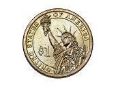 Reverse Inscriptions\nUNITED STATES OF AMERICA $1