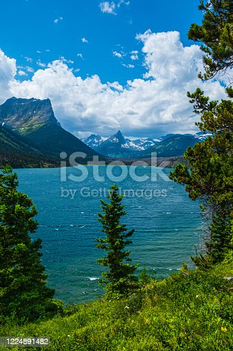 istock 0000284_Beutiful view of St. Mary Lake along the Sun Point Nature Trail, Glacier National Park - Montana_2508 1224891482