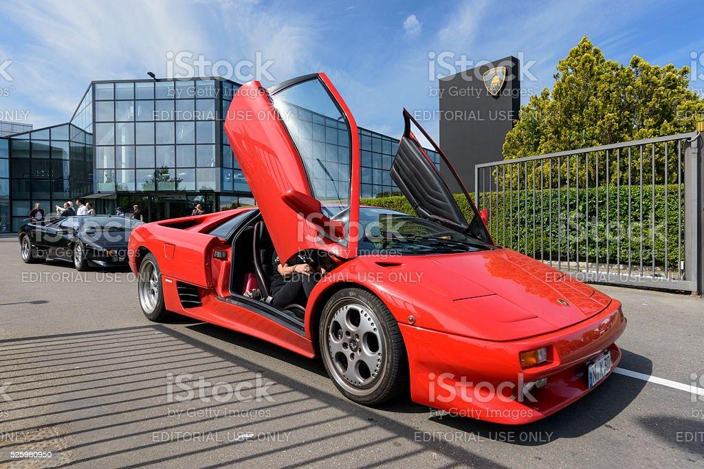 100th Ferruccio Lamborghini Anniversary stock photo