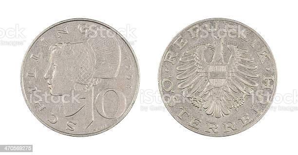 10-Schilling-Coin, Austria, 1994