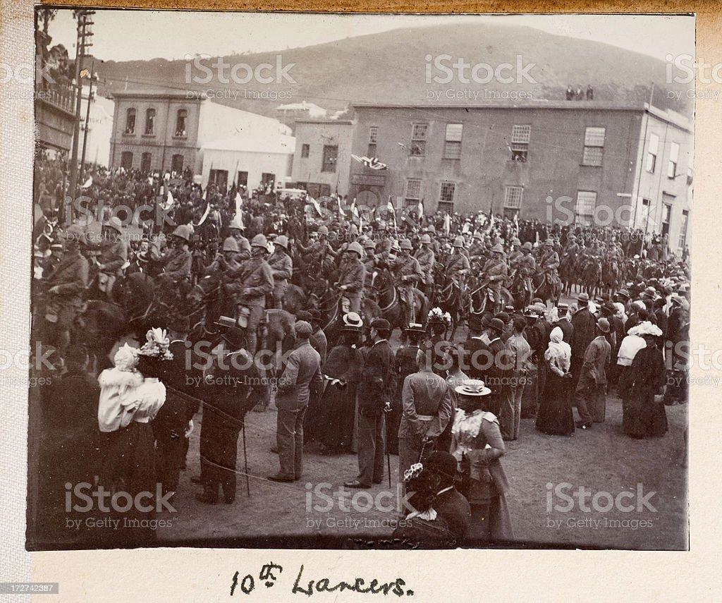 10th Lancers stock photo