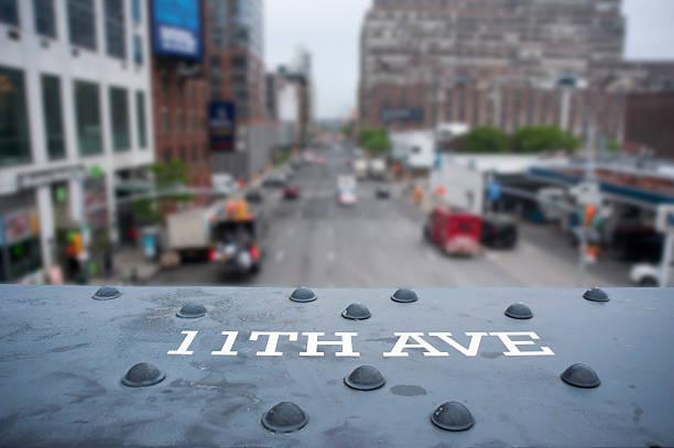 12 th Avenue señal - foto de stock