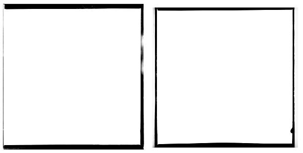 XXXL 120mm Film negative borders. 120mm Square Film negative borders. Can be used in different design elements as a border or overlays. black border stock pictures, royalty-free photos & images