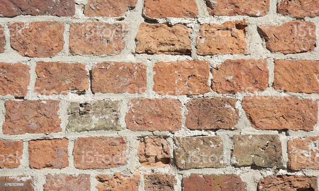 12th century brickwork royalty-free stock photo